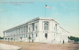US WASHINGTON DC / House Of Representatives Office Building / CARTE COULEUR - Washington DC