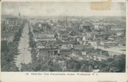 US WASHINGTON DC / Birds-Eye View Pennsylvania Avenue / - Washington DC