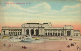 US WASHINGTON DC / Union Station / CARTE COULEUR - Washington DC