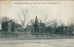 US WASHINGTON DC / Columbia Institution For Deaf And Dumb / - Washington DC
