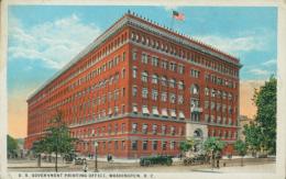 US WASHINGTON DC / U.S Government Printing Office / CARTE COULEUR - Washington DC