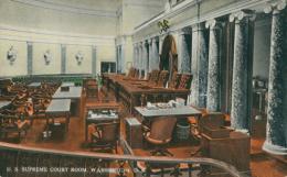 US WASHINGTON DC / U.S Supreme Court Room / CARTE COULEUR - Washington DC
