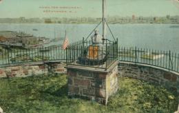 US WEEHAWKEN / Hamilton Monument / CARTE COULEUR GLACEE - Etats-Unis