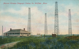 US WELLFLEET / Marconi Wireless Telegraph Station / CARTE COULEUR - Altri