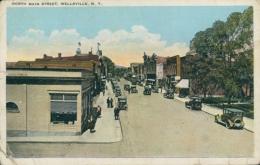 US WELLSVILLE / North Main Street / CARTE COULEUR - Autres