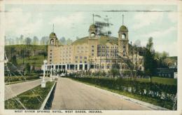 US WEST BADEN / West Baden Springs Hotel / CARTE COULEUR - Etats-Unis