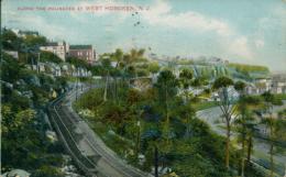 US WEST HOBOKEN / Along The Palisades At West Hoboken / CARTE COULEUR - Etats-Unis