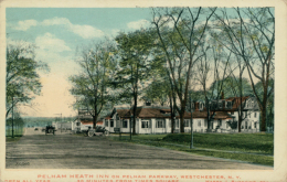 US WEST CHESTER / Pelham Heath Inn On Pelham Parkway / CARTE COULEUR GLACEE - NY - New York