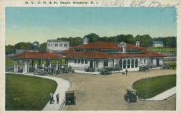 US WESTERLY / The Depot / CARTE COULEUR - Etats-Unis