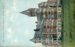 US WICHITA / Main Building, Friends University / CARTE COULEUR - Wichita