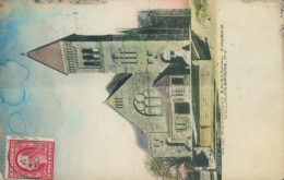 US WILLIAMSBRIDGE / Olin Methodist Episcopal Church / CARTE COULEUR - NY - New York