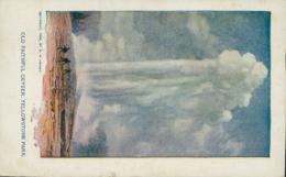 US YELLOWSTONE / Old Faithful Geyser / CARTE COULEUR - Yellowstone