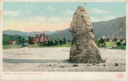 US YELLOWSTONE / Liberty Cap, Yellowstone Park / CARTE COULEUR - Yellowstone