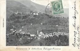 AM.V.16-245 : PANORAMA DI SOTTOCHIESA FALEGGIO PIZZINO - Cinisello Balsamo