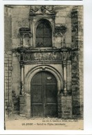 Ref 198 - JOIGNY - Portail De L'église Saint-André - Joigny