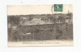 Cp , 17 , ILE D´OLERON , Le Château , Vue Générale à Vol D´oiseau , Voyagée - Ile D'Oléron