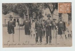 SURINAM - LE GENERAL DES BOSCHNEGERS ET SON ETAT MAJOR - Surinam