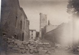 Photo Juin 1916 ETAIN - Une Barricade Dans Une Rue (A142, Ww1, Wk 1) - Etain