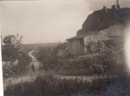 Photo 1916 HENNEMONT (près Etain) - Route De Pinthéville, Position Allemande (A142, Ww1, Wk 1) - France