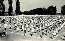 - Saone Et Loire -ref-821- Chalon Sur Saone - Carte Photo - Gymnastique - Enfants -  Fete - Fetes - Sports - - Chalon Sur Saone