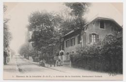 78 YVELINES - Hameau De La Jonchère, Avenue De La Jonchère, Restaurant Godard - Otros Municipios