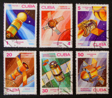 JOURNEE DE L'ASTONAUTIQUE 1983 - OBLITERES - YT 2430/35 - MI 2732/37 - Cuba