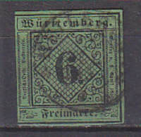 PGL CW459 - WURTEMBERG Yv N°3 ALT DEUTSCHLAND WURTTEMBERG Mi N°3 - Wuerttemberg