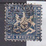 M5160 - WURTEMBERG Yv N°27 ALT DEUTSCHLAND WURTTEMBERG Mi N°27 - Wurttemberg