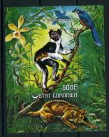 COMORES ( BLOC ) : Y&T  N°  6   BLOC  NEUF  SANS  TRACE  DE  CHARNIERE , A  VOIR .