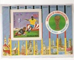 GERMANY 74 FOOTBALL WORLD CUP FIFA GUINEA ECUATORIAL - 1974 – Germania Ovest