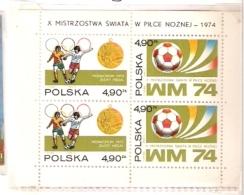GERMANY 74 FOOTBALL WORLD CUP FIFA  POLAND POLSKA - Coppa Del Mondo