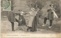Types D`Auvergne 1904. - Auvergne Types D'Auvergne