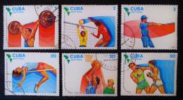 9 EMES JEUX PANAMERICAINS A CARACARS 1983 - OBLITERES - YT 2443/48 - MI 2747/52 - Cuba