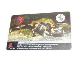 Salamander Aggtelek Stalactite Cave Tropfsteinhöhle 1998 Phonecard Hungary - Tarjetas Telefónicas
