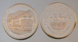 Libéria 20 Dollars 2001 Train Bejing Argent Train - Liberia