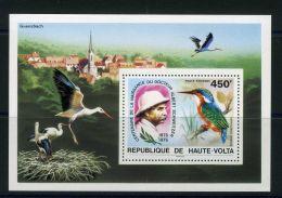 HAUTE-VOLTA ( BLOC ) : Y&T  N°  5AF   BLOC  NEUF  SANS  TRACE  DE  CHARNIERE , A  VOIR . - Haute-Volta (1958-1984)