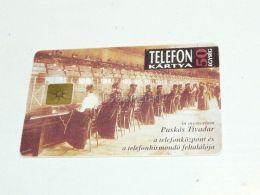 Telephone Exchange Telefonzentrale Puskas Tivadar 1844-1893 1993 Phonecard Hungary - Telephones