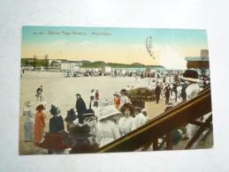 MONTEVIDEO BANOS OLAYA RAMIREZ 1933  CIRCULE DOS DIVISE BON ETAT COLORISE TRACE TIMBRE - Uruguay