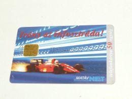 Forma 1 F1 Ferrari Auto Car 1996 Phonecard Hungary - Auto's