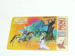 Ritter Prinzessin Geschichte Knight Princess Tale Benedek Elek  1995 Phonecard Hungary - Andere