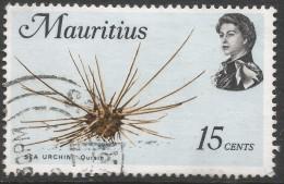 Mauritius. 1969 Sealife. 15c Used. SG 387 - Mauritius (1968-...)