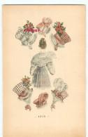 FEMME - CHAPEAUX MODE FEMININE En 1815 Et 1816 - HABIT  ROBE COIFFURE & CHAPEAU - DOS SCANNE - Moda