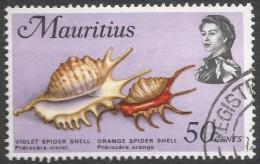 Mauritius. 1969 Sealife. 50c Used. SG 448 - Mauritius (1968-...)
