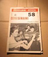 Expo 58 N°13 Programme Officiel Bruxelles Cirque Soviétique, URSS, USSR Etc. - Cultura