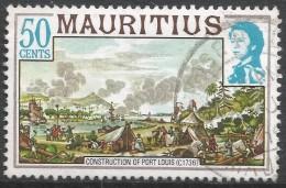 Mauritius. 1978 Definitives. 50c Used. SG 534A - Mauritius (1968-...)
