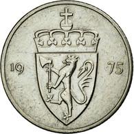 Monnaie, Norvège, Olav V, 50 Öre, 1975, TTB+, Copper-nickel, KM:418 - Norvège