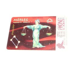 Libra Bilanz Zodiac 1995 Phonecard Hungary - Zodiac