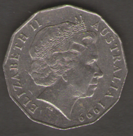 AUSTRALIA 50 CENTS 2001 - Moneta Decimale (1966-...)