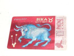 Taurus Zodiac 1995 Phonecard Hungary - Zodiac
