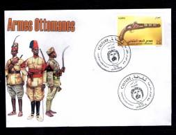 Algérie - 2016 - Algeria- Culture -FDC   - Pistolet Ottoman. - Militaria